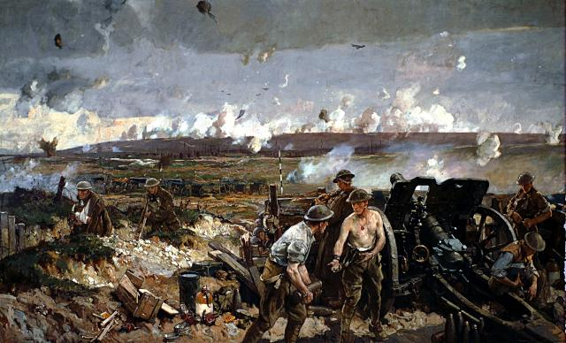 The Battle of Vimy Ridge (1918) by Richard Jack